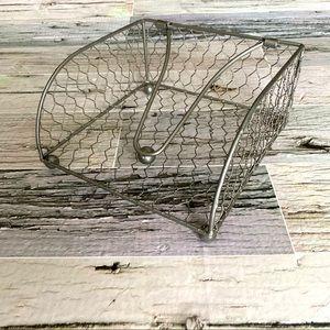 Ashland farmhouse rustic napkin holder